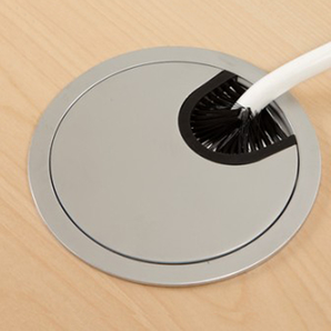 Schreibtisch Rechteck Manuelle 160x80 cm HP Laminat Weiß