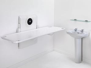 Wickeltisch Easi-shower Manuell