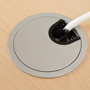 Schreibtisch Ursagad Elektrisch 180x82 Laminat Schwarz